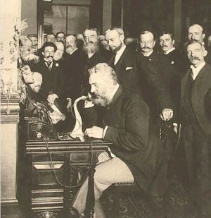 first-telephone-conversation